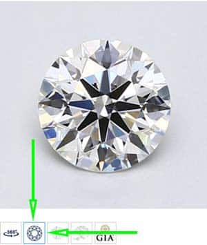 Blue Nile Review, 360 degree diamond video, LD07829573