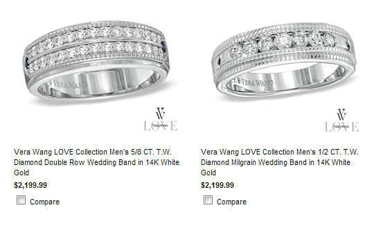 world - Zales Mens Wedding Rings