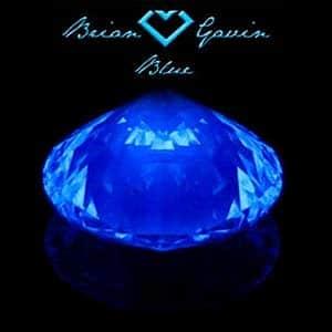 Blue Fluorescent Diamond, Brian Gavin Blue, AGS#104063639042