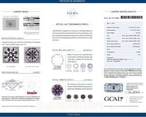 Blue Nile Signature Diamond GCAL #231370009