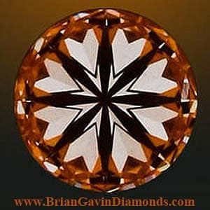 Brian Gavin Hearts and Arrows Diamond, AGS#104059545029