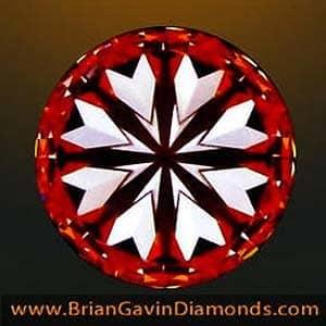 Hearts pattern, Brian Gavin Signature Diamond, AGS#104047809010