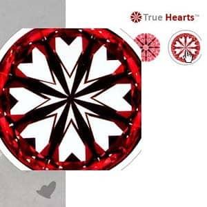 James Allen True Hearts Diamond, SKU#73772
