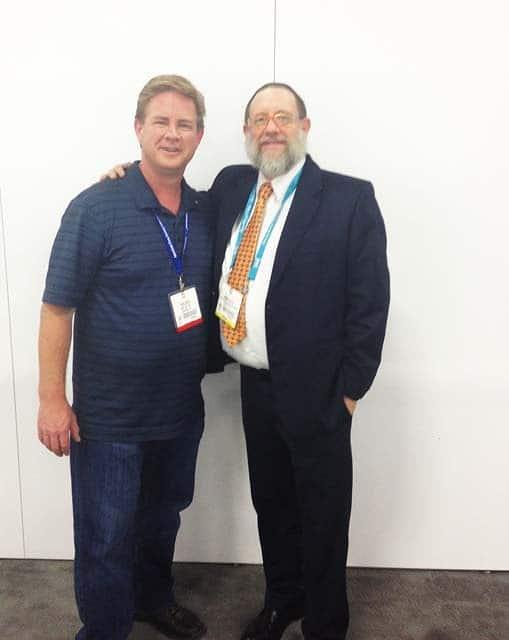 Todd Gray and Brian Gavin at the JCI Show 2013.