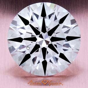 Brian Gavin Signature Hearts & Arrows Diamond, AGS #104063508001