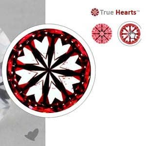 James Allen True Hearts Diamond