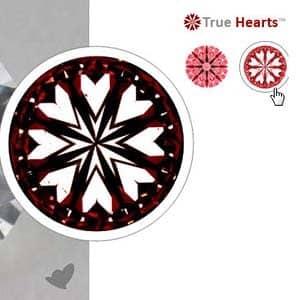 James Allen True Hearts Diamond, GIA #2156032836