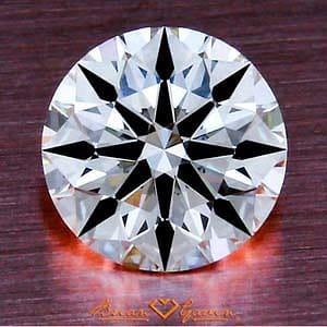 Brian Gavin Signature Round Brilliant Cut Diamond, AGS #104061069021