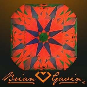 Brian Gavin Signature Cushion Cut Diamond, AGS #104066516007