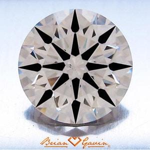 Brian Gavin Signature Hearts and Arrows Diamond, AGS #104059065010