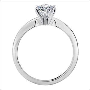 Blue Nile classic six prong tiffany style solitaire