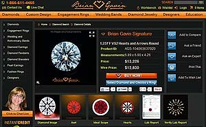 Brian Gavin Signature Diamond, AGS #104063637020