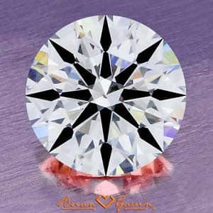 Diamond Clarity Photograph, Brian Gavin Signature Diamond, AGS #104064813017