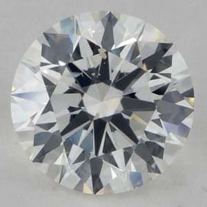 Clarity photograph, James Allen True Hearts Diamond, GIA #2156185686