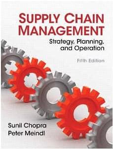 Chopra & Meindl Supply Chain Management