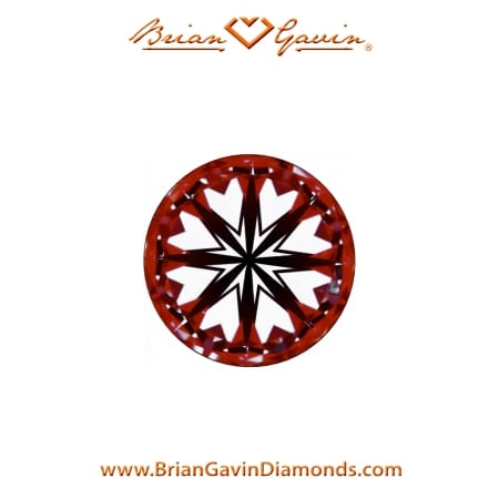 Best diamond earrings studs, Black by Brian Gavin, example 104090535047 hearts and arrows