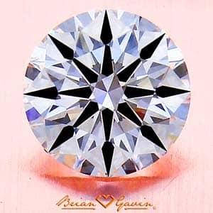 Brian Gavin Signature diamond clarity photograph, AGSL 10406169039