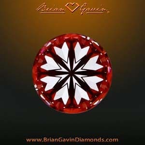 Hearts pattern Brian Gavin Signature Diamond, AGSL 104061658007
