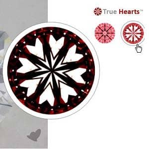James Allen True Hearts Diamond, SKU 270753