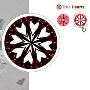 James Allen True Hearts Diamond, SKU 270753