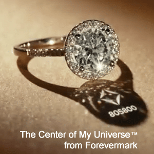 Center of My Universe campaign by Forevermark Diamonds