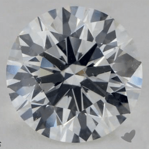 GIA 3X Round Brilliant Ideal Cut Diamond from James Allen, SKU 268799