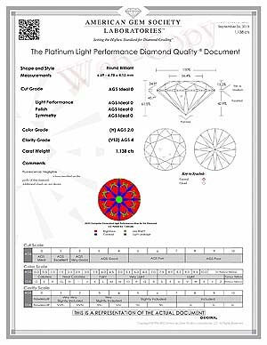 James Allen True Hearts Diamond Review, SKU 261446