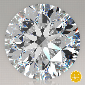 Round Brilliant Ideal Cut Diamond from Ritani, GIA 2155571430
