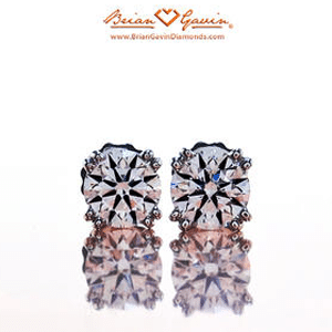 Diamond Stud Earrings With The Best Cut Quality And Visual Performance For 25 40k