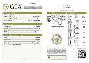 Blue Nile ideal cut diamond reviews, GIA 2151856111