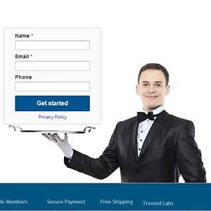 Why do I have to provide my contact details to learn more about the services offered by Diamond Concierge Service