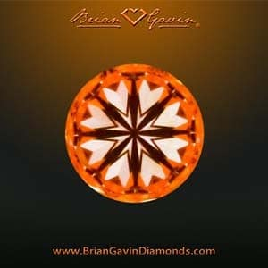 Hearts pattern, Brian Gavin Signature diamond reviews, AGSL 104054185007