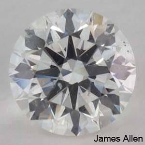 James Allen Round Diamond Reviews, GIA 2167119113