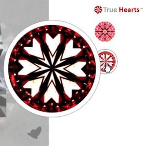 James Allen True Hearts Diamond Review, SKU 129281
