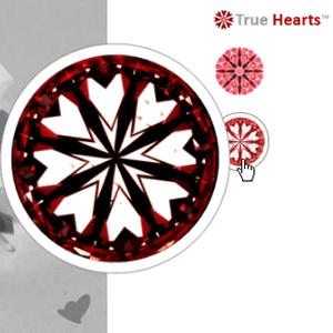 James Allen True Hearts diamond review GIA 2156824426