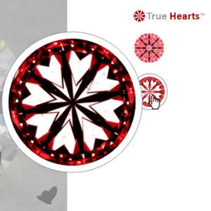 James Allen True Hearts Diamonds Reviews, SKU 114125