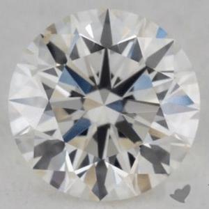 Judging contrast, James Allen diamond reviews, GIA 2146688467