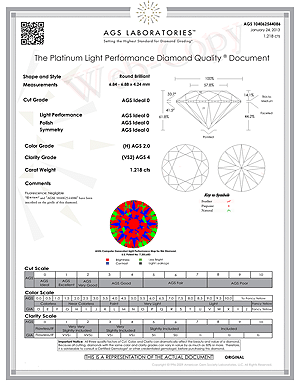 Ritani diamond reviews, AGSL 104062544086 D-G3YY60
