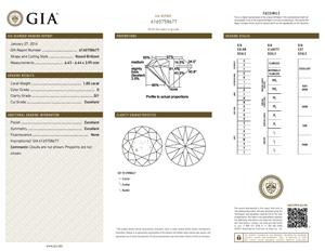 Ritani Round Diamond Review, GIA 6165758677-D-M5HY5Y