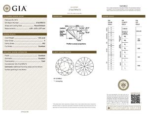 Ritani diamonds reviews, GIA 2166789673-D-M5MMYW
