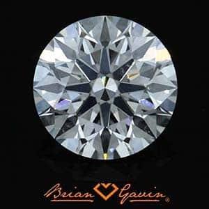 Are Brian Gavin SI1 clarity diamonds eye clean, AGSL 104069795039