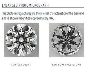 Blue Nile Signature Round diamond reviews, GIA 2135821748