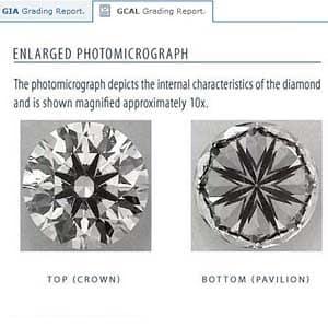 Blue Nile Signature round diamond reviews, GIA 2151798837