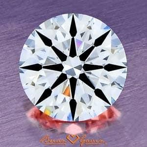 Diamond Contrast Brilliance Example Brian Gavin Signature.