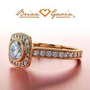 Will J color diamond look yellow in rose gold setting