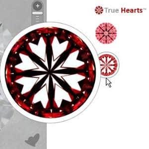 James Allen True Hearts Round Diamonds Reviews, AGSL 104059904019