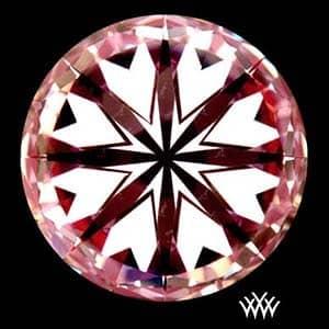 Whiteflash A Cut Above diamond reviews, SKU 3075973, AGSL 104070154006, hearts pattern