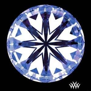 Whiteflash Expert Selection Diamond Reviews, SKU 3016698, AGSL 104067466021 hearts pattern