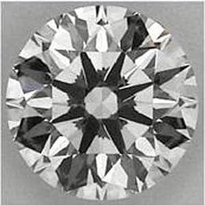 Arrows pattern Blue Nile Signature diamond review, GIA 1159131504