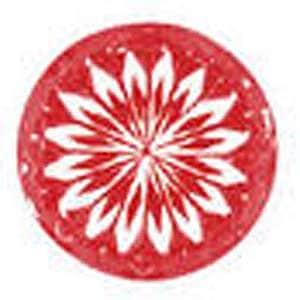 Chrysanthemum flower effect exhibited by Ben Bridge Signature Forevermark diamonds when viewed through Ideal Scope